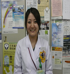 【屋良 美紀先生】後期研修医2年生